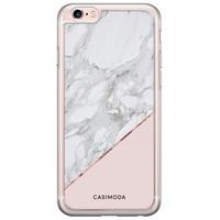 Casimoda iPhone 6/6s siliconen hoesje - Marmer roze