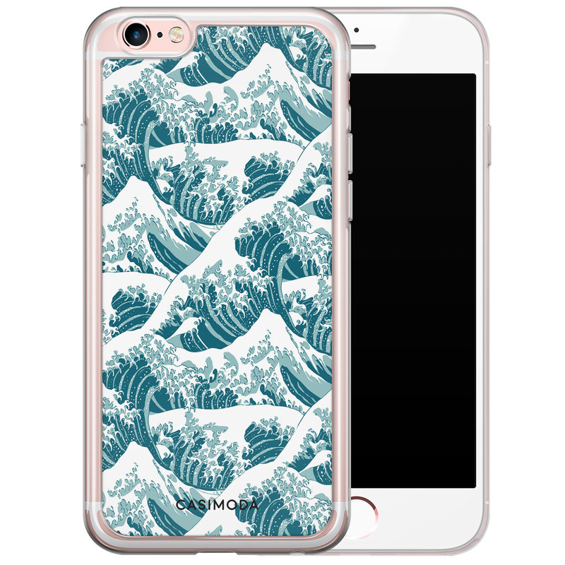 Casimoda iPhone 6/6s siliconen hoesje - The great wave