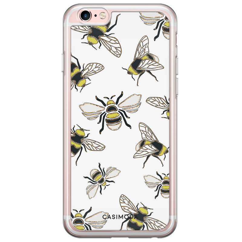 Casimoda iPhone 6/6s siliconen hoesje - Queen bee
