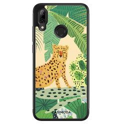 Casimoda Huawei P Smart 2019 hoesje - Jungle luipaard