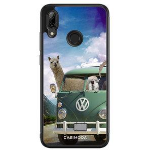 Casimoda Huawei P Smart 2019 hoesje - Lama adventure