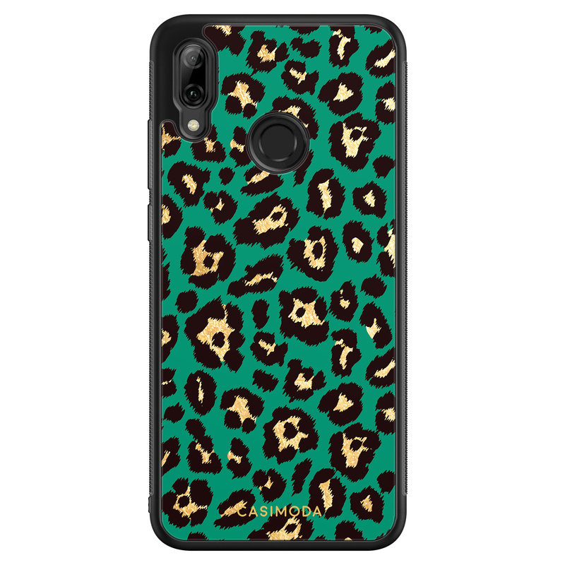Casimoda Huawei P Smart 2019 hoesje - Luipaard groen