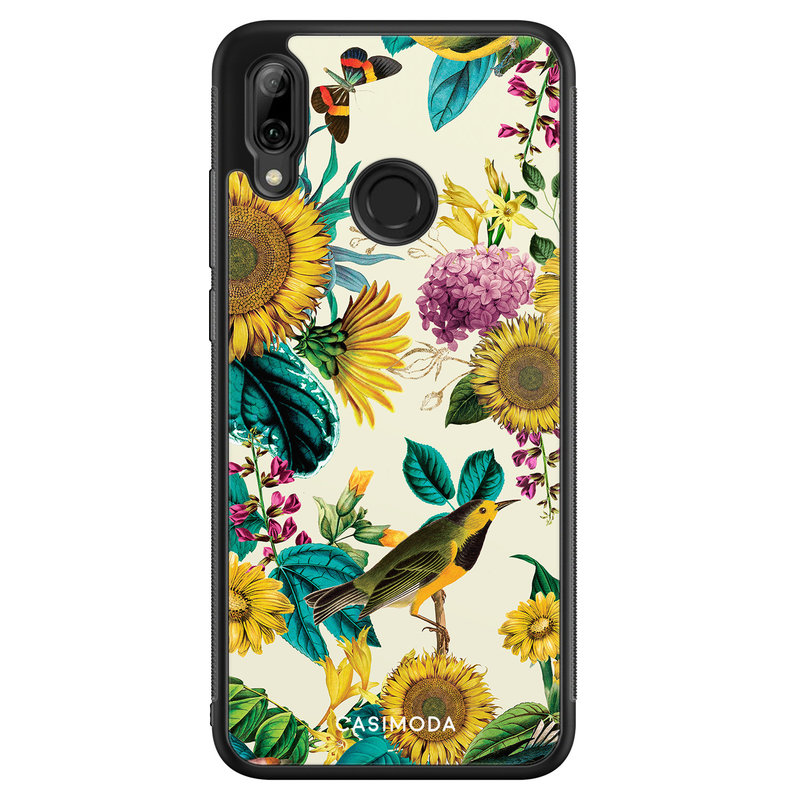 Casimoda Huawei P Smart 2019 hoesje - Sunflowers