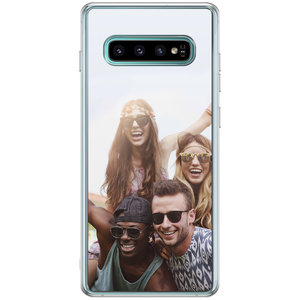 Casimoda Samsung Galaxy S10 Plus hoesje ontwerpen - Softcase met foto ontwerpen