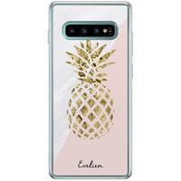 Casimoda Samsung Galaxy S10 Plus hoesje ontwerpen - Ananas