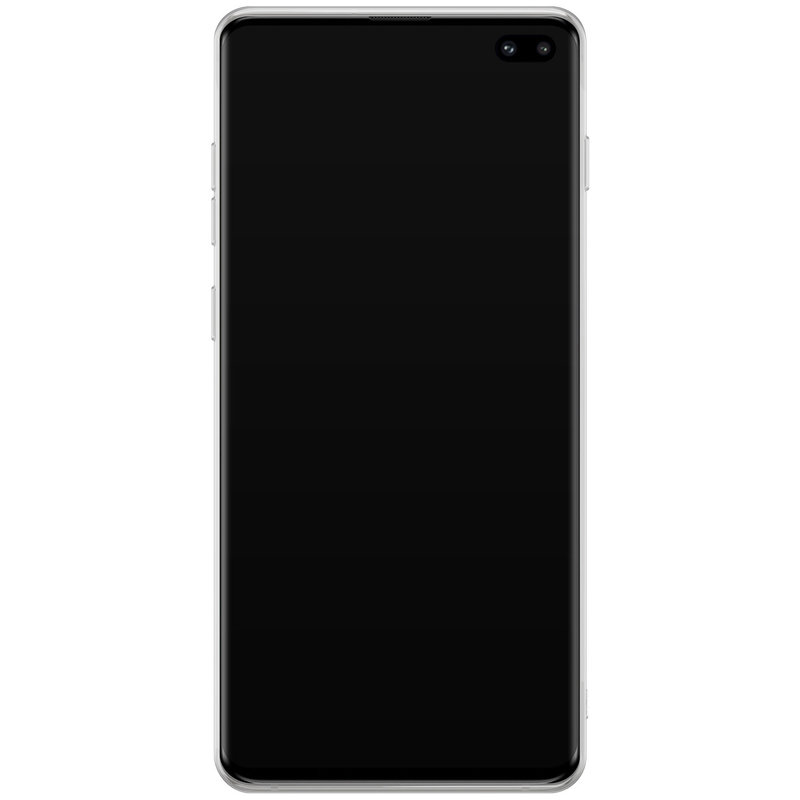 Casimoda Samsung Galaxy S10 Plus hoesje ontwerpen - Parelmoer marmer