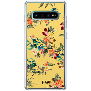 Casimoda Samsung Galaxy S10 Plus hoesje ontwerpen - Floral for days