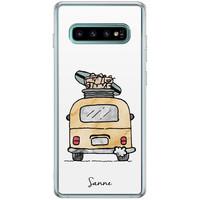 Casimoda Samsung Galaxy S10 Plus hoesje ontwerpen - Adventure awaits