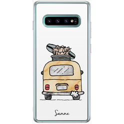 Casimoda Samsung Galaxy S10 Plus hoesje ontwerpen - Adventure awaits