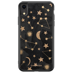 iPhone XR siliconen hoesje - Counting the stars