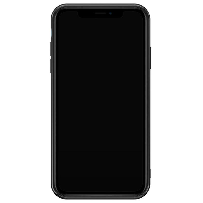 Casimoda iPhone XR siliconen hoesje - Marble stripes