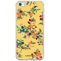 iPhone 5/5S/SE siliconen hoesje - Florals for days