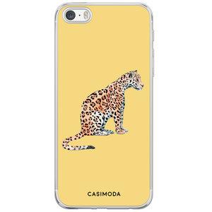 Casimoda iPhone 5/5S/SE siliconen hoesje - Leo wild