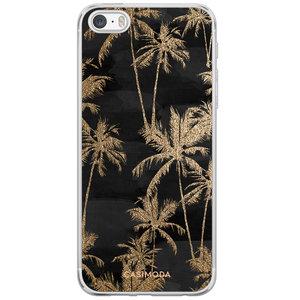 Casimoda iPhone 5/5S/SE siliconen hoesje - Palmbomen