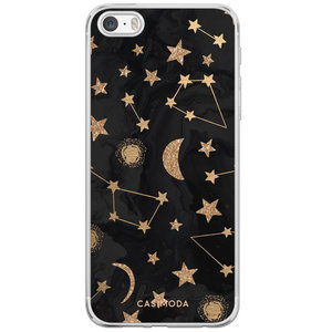 iPhone 5/5S/SE siliconen hoesje - Counting the stars