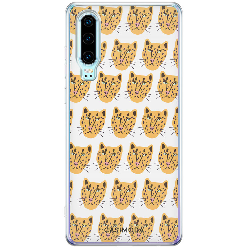 Casimoda Huawei P30 siliconen hoesje - Got my leopard