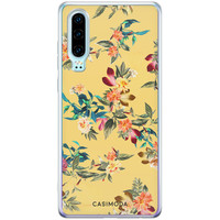 Casimoda Huawei P30 siliconen hoesje - Floral days