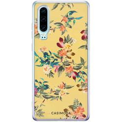 Casimoda Huawei P30 siliconen hoesje - Floral days