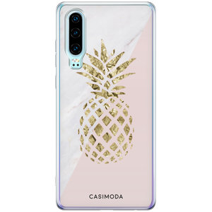 Casimoda Huawei P30 siliconen hoesje - Ananas