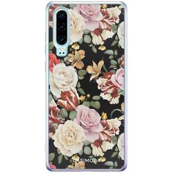 Casimoda Huawei P30 siliconen hoesje - Flowerpower