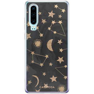 Casimoda Huawei P30 siliconen hoesje - Counting the stars