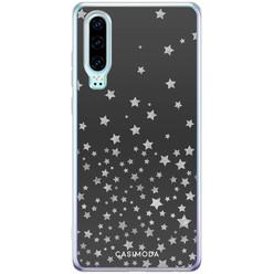 Casimoda Huawei P30 siliconen hoesje - Falling stars