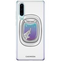 Casimoda Huawei P30 siliconen hoesje - Travel life