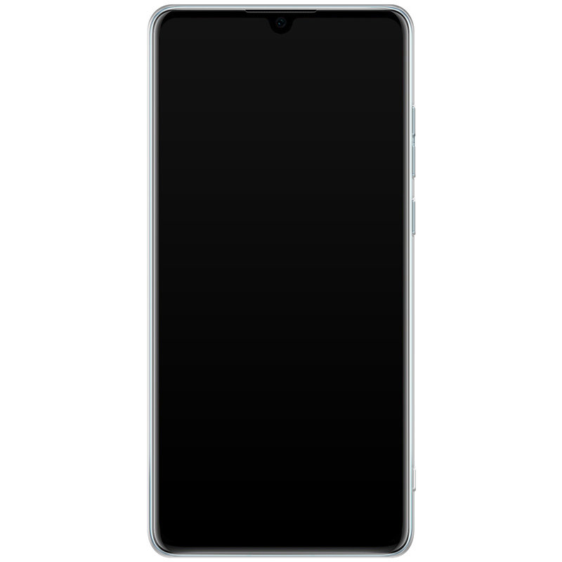 Casimoda Huawei P30 siliconen telefoonhoesje - Blah blah blah