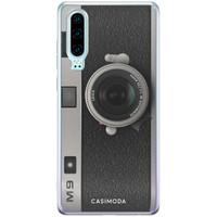 Casimoda Huawei P30 siliconen telefoonhoesje - Camera