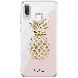 Casimoda Samsung Galaxy A40 hoesje ontwerpen - Ananas