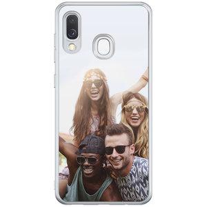 Casimoda Samsung Galaxy A40 hoesje - Softcase met foto