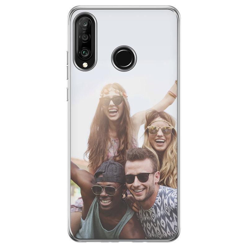 Casimoda Huawei P30 Lite hoesje - Softcase met foto ontwerpen