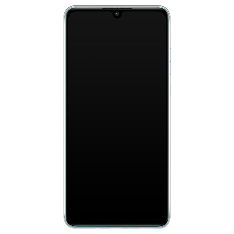 Casimoda Huawei P30 Lite hoesje ontwerpen - Marmer blauw goud