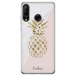 Casimoda Huawei P30 Lite hoesje ontwerpen - Ananas