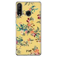 Casimoda Huawei P30 Lite hoesje ontwerpen - Floral for days