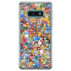 Casimoda Samsung Galaxy S10e siliconen hoesje - Emoji collectie