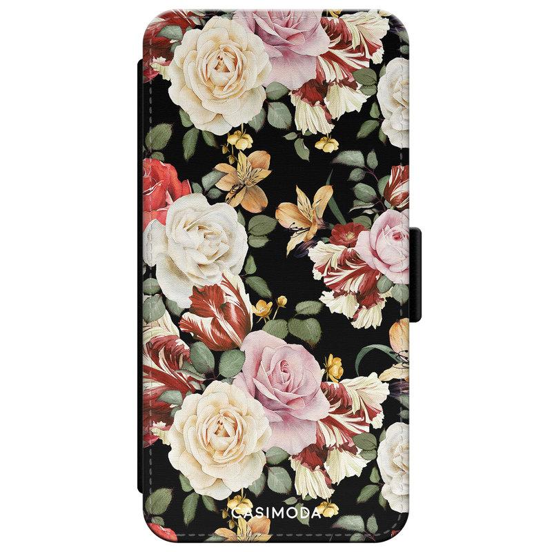 Casimoda iPhone XR flipcase - Bloemenparade