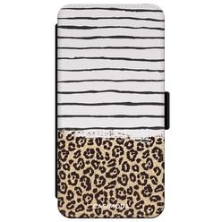 Casimoda iPhone XR flipcase - Leopard lines