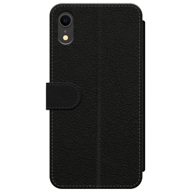 Casimoda iPhone XR flipcase - Marmer blauw goud