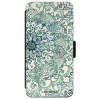 Casimoda iPhone XR flipcase - Mandala blauw