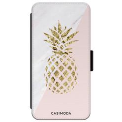 Casimoda iPhone XR flipcase - Ananas