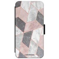 Casimoda iPhone XR flipcase - Stone grid