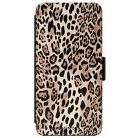 Casimoda iPhone XR flipcase - Luipaard print