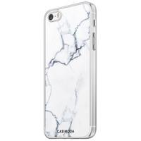 Casimoda iPhone 5/5S/SE siliconen hoesje - Marmer grijs