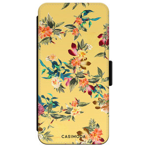 Casimoda iPhone XS Max flipcase - Florals for days