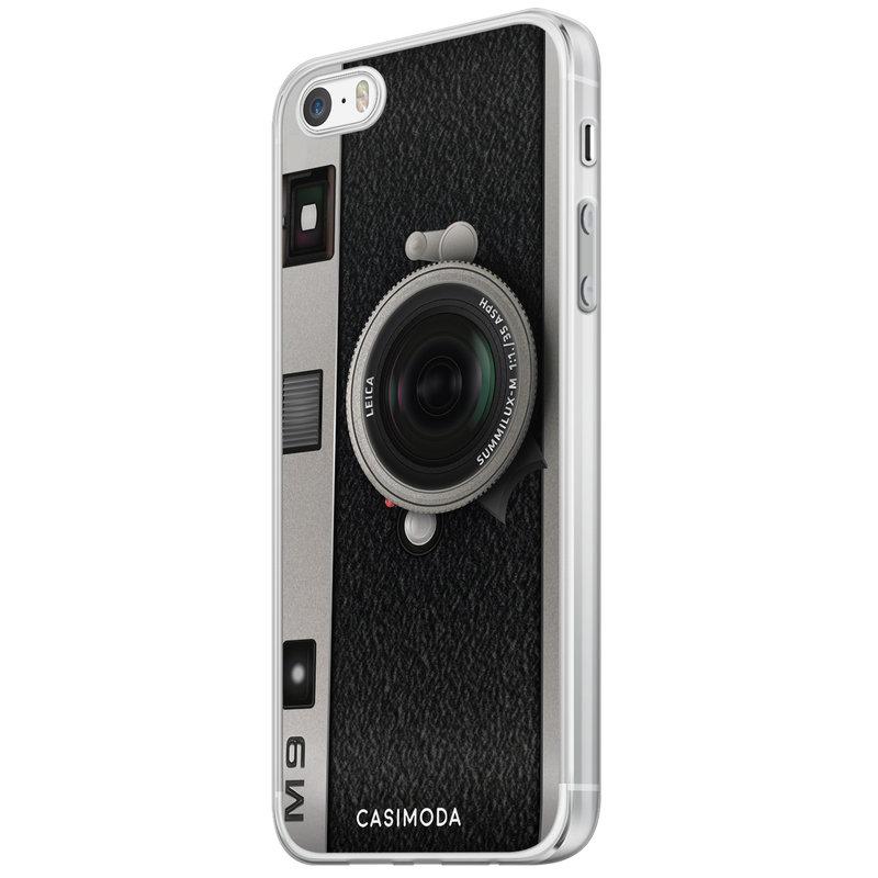 Casimoda iPhone 5/5S/SE siliconen hoesje - Camera