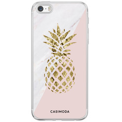 iPhone 5/5S/SE siliconen hoesje - Ananas