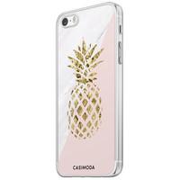 Casimoda iPhone 5/5S/SE siliconen hoesje - Ananas