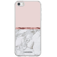 iPhone 5/5S/SE siliconen hoesje - Rose all day