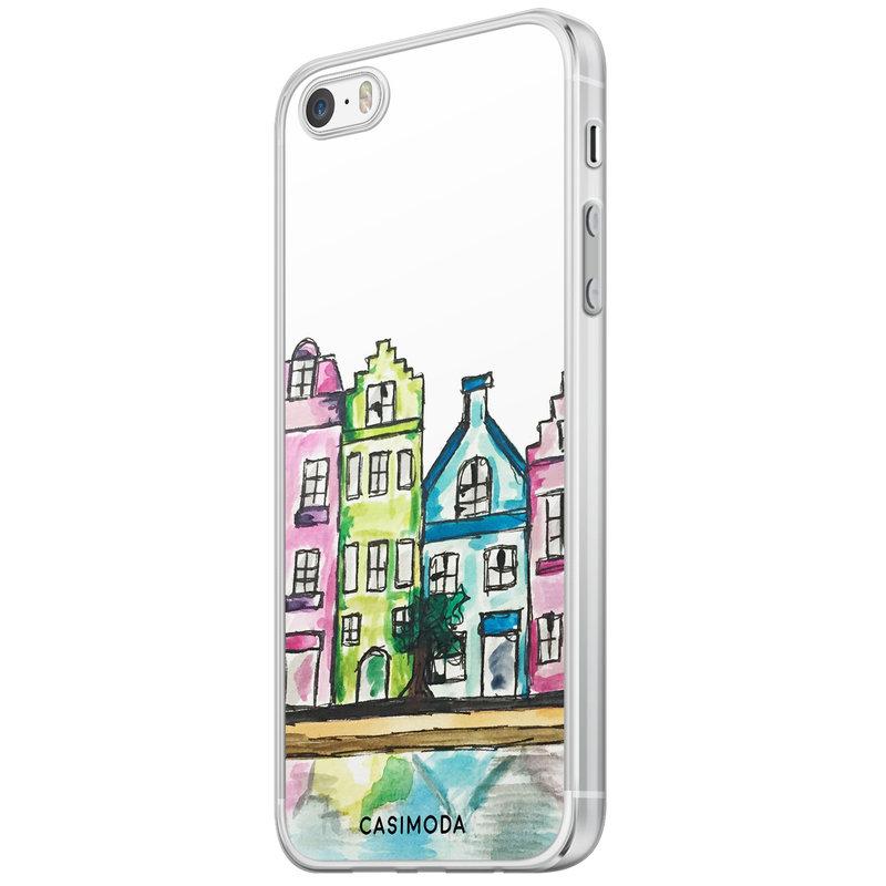 Casimoda iPhone 5/5S/SE siliconen hoesje - Amsterdam